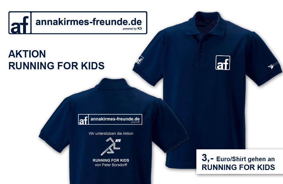 Annakirmes Running for Kids Shirtaktion